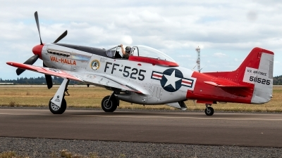 Photo ID 239440 by Alex Jossi. Private Heritage Flight Museum North American P 51D Mustang, N151AF