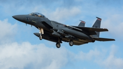 Photo ID 239533 by Doug MacDonald. USA Air Force McDonnell Douglas F 15E Strike Eagle, 00 3003