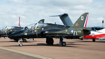 Photo ID 239576 by Aldo Bidini. UK Air Force British Aerospace Hawk T 1A, XX350