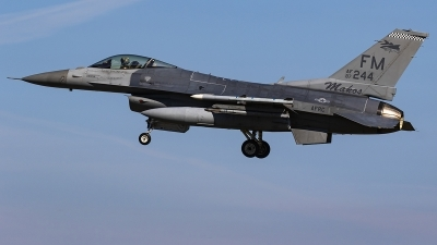 Photo ID 239600 by Matt Varley. USA Air Force General Dynamics F 16C Fighting Falcon, 87 0244