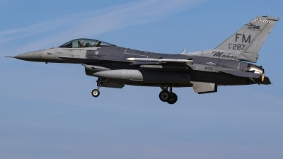 Photo ID 239633 by Matt Varley. USA Air Force General Dynamics F 16C Fighting Falcon, 87 0287