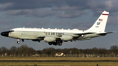 Photo ID 239702 by Matt Varley. USA Air Force Boeing RC 135W Rivet Joint 717 158, 62 4134
