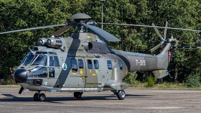 Photo ID 239774 by Jan Eenling. Switzerland Air Force Aerospatiale AS 332M1 Super Puma, T 315