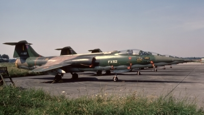 Photo ID 239728 by D. A. Geerts. Belgium Air Force Lockheed F 104G Starfighter, FX 52