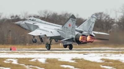 Photo ID 239773 by Andrei Shmatko. Russia Air Force Mikoyan Gurevich MiG 31BM, RF 95961