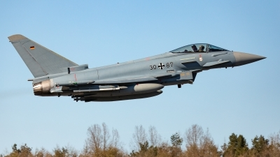 Photo ID 239763 by Jens Wiemann. Germany Air Force Eurofighter EF 2000 Typhoon S, 30 87