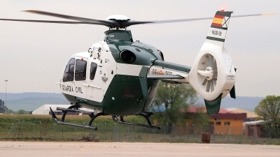 Photo ID 239829 by Montserrat Pin. Spain Guardia Civil Eurocopter EC 135P2, HU 26 09
