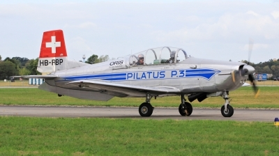 Photo ID 239950 by Milos Ruza. Private P 3 Flyers Pilatus P 3 05, HB RBP