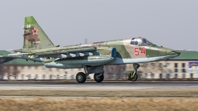 Photo ID 240272 by Andrei Shmatko. Russia Air Force Sukhoi Su 25SM, RF 95169