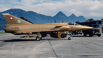 Photo ID 240210 by Giampaolo Tonello. Switzerland Air Force Dassault Mirage IIIS, J 2311