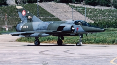Photo ID 240215 by Giampaolo Tonello. Switzerland Air Force Dassault Mirage IIIRS, R 2108