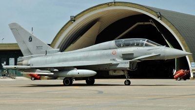 Photo ID 240264 by Aldo Bidini. Italy Air Force Eurofighter TF 2000A Typhoon EF 2000T, MM55095