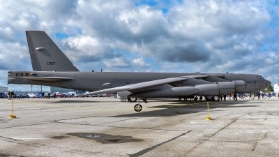 Photo ID 240247 by Rod Dermo. USA Air Force Boeing B 52H Stratofortress, 60 0007