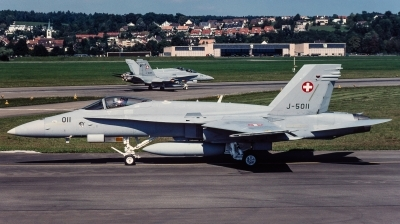 Photo ID 240258 by Giampaolo Tonello. Switzerland Air Force McDonnell Douglas F A 18C Hornet, J 5011