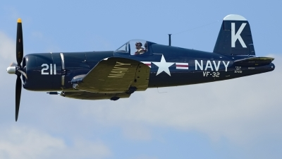 Photo ID 240346 by Rod Dermo. Private Erickson Aircraft Collection Vought F4U 7 Corsair, NX1337A