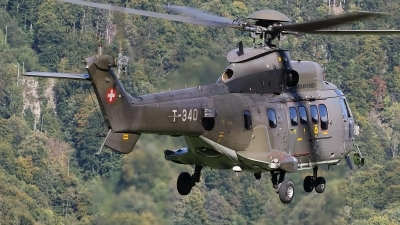 Photo ID 240373 by Ludwig Isch. Switzerland Air Force Aerospatiale AS 532UL Cougar, T 340