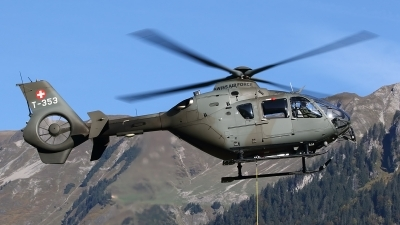 Photo ID 240377 by Ludwig Isch. Switzerland Air Force Eurocopter EC 635P2, T 353