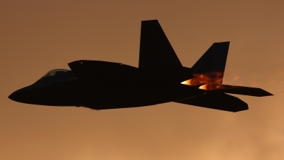 Photo ID 27075 by Jonathan Derden - Jetwash Images. USA Air Force Lockheed Martin F 22A Raptor, 03 4050