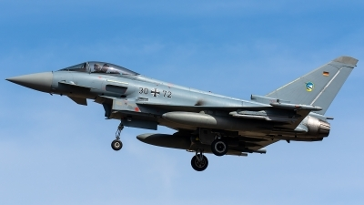 Photo ID 240428 by Thomas Ziegler - Aviation-Media. Germany Air Force Eurofighter EF 2000 Typhoon S, 30 72