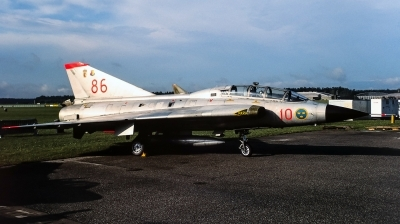 Photo ID 241276 by Giampaolo Tonello. Sweden Air Force Saab Sk35C Draken, 35804