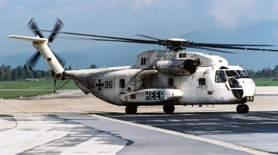 Photo ID 240475 by Giampaolo Tonello. Germany Army Sikorsky CH 53G S 65, 84 36