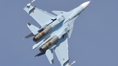 Photo ID 240477 by Günther Feniuk. Russia Air Force Sukhoi Su 30SM Flanker,