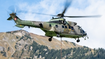 Photo ID 240598 by Reto Gadola. Switzerland Air Force Aerospatiale AS 532UL Cougar, T 333