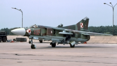 Photo ID 240622 by Marc van Zon. Poland Air Force Mikoyan Gurevich MiG 23MF, 457