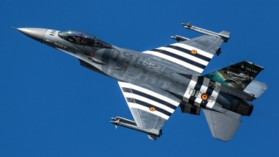 Photo ID 240646 by Thomas Ziegler - Aviation-Media. Belgium Air Force General Dynamics F 16AM Fighting Falcon, FA 124