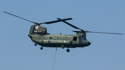Photo ID 240746 by Thomas Ziegler - Aviation-Media. Netherlands Air Force Boeing Vertol CH 47D Chinook, D 102