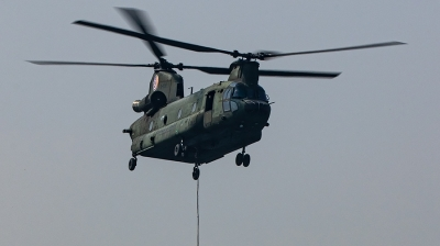 Photo ID 240747 by Thomas Ziegler - Aviation-Media. Netherlands Air Force Boeing Vertol CH 47D Chinook, D 102