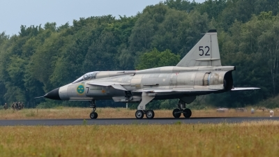 Photo ID 243475 by Age Meijer. Private Swedish Air Force Historic Flight Saab AJS37 Viggen, SE DXN