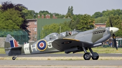 Photo ID 241141 by D. A. Geerts. Private Historic Flying Ltd Supermarine 509 Spitfire T 9C, G CCCA