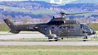 Photo ID 241144 by Mark Broekhans. Switzerland Air Force Aerospatiale AS 532UL Cougar, T 340