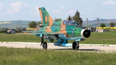 Photo ID 241208 by Neil Dunridge. Romania Air Force Mikoyan Gurevich MiG 21UM Lancer B, 172