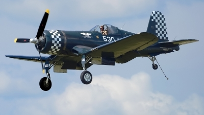 Photo ID 241175 by Rod Dermo. Private Commemorative Air Force Goodyear FG 1D Corsair, N9964Z