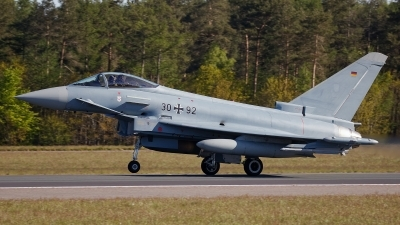 Photo ID 241314 by Rainer Mueller. Germany Air Force Eurofighter EF 2000 Typhoon S, 30 92