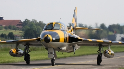 Photo ID 241310 by Andreas Weber. Private Verein Hunter Flying Group Hawker Hunter T68, HB RVV