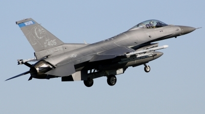 Photo ID 241386 by Arie van Groen. USA Air Force General Dynamics F 16C Fighting Falcon, 91 0405