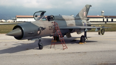 Photo ID 241421 by Aldo Bidini. Croatia Air Force Mikoyan Gurevich MiG 21bis, 75126