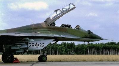 Photo ID 241453 by Alex Staruszkiewicz. Germany Air Force Mikoyan Gurevich MiG 29UB 9 51, 29 22