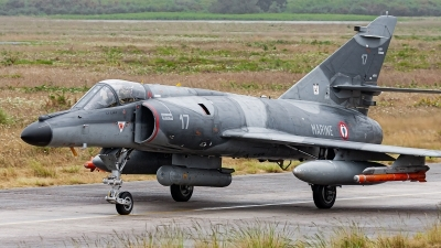 Photo ID 241505 by Alex van Noye. France Navy Dassault Super Etendard, 17
