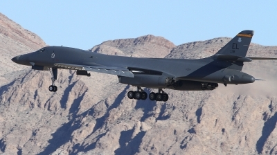 Photo ID 241466 by Paul Newbold. USA Air Force Rockwell B 1B Lancer, 86 0118