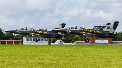 Photo ID 241496 by Tim Lowe. Private Breitling Jet Team Aero L 39C Albatros, ES YLR