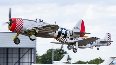 Photo ID 241521 by Tim Lowe. Private Fighter Aviation Engineering Ltd Republic P 47D Thunderbolt, G THUN