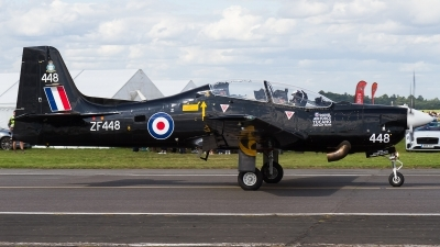 Photo ID 241524 by Tim Lowe. UK Air Force Short Tucano T1, ZF448