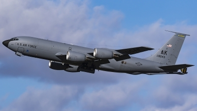 Photo ID 241592 by Matt Varley. USA Air Force Boeing KC 135R Stratotanker 717 148, 63 8043