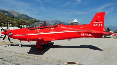 Photo ID 241586 by Aldo Bidini. Company Owned Pilatus Pilatus PC 21, HB HZC