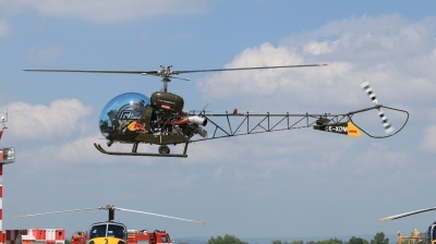 Photo ID 241567 by Milos Ruza. Private Red Bull Bell 47G 3B 1, OE XDM