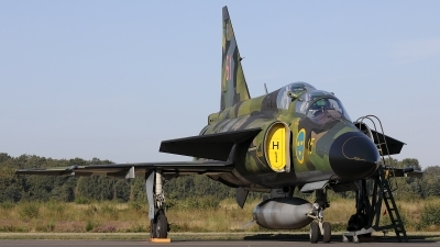 Photo ID 241617 by Walter Van Bel. Private Swedish Air Force Historic Flight Saab Sk37E Viggen, SE DXO